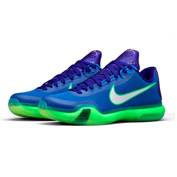 sports shoes 8622d 3cef1 Nike Kobe 10 X Emerald City Seahawks